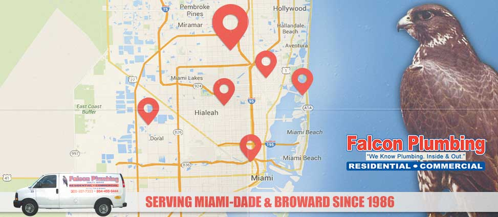 Plumbing Services in Miami and Broward, FL